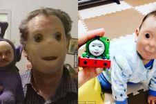 11 Foto tukar wajah ini nggak banget, aneh tapi lucu
