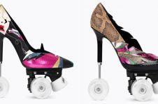 Saint Laurent rilis sepatu stiletto dengan roda, ada versi sneakernya