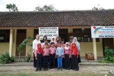 Semangat belajar di SD Wonolagi yang hanya punya 10 siswa
