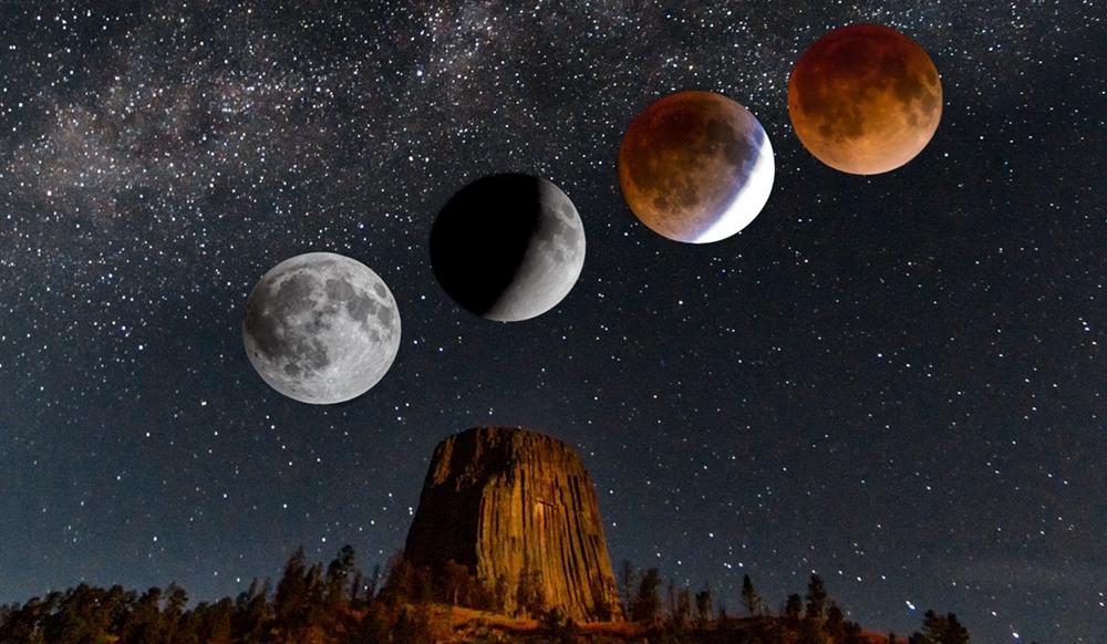 Indonesia bakal jadi tempat paling jelas lihat Gerhana Bulan Parsial