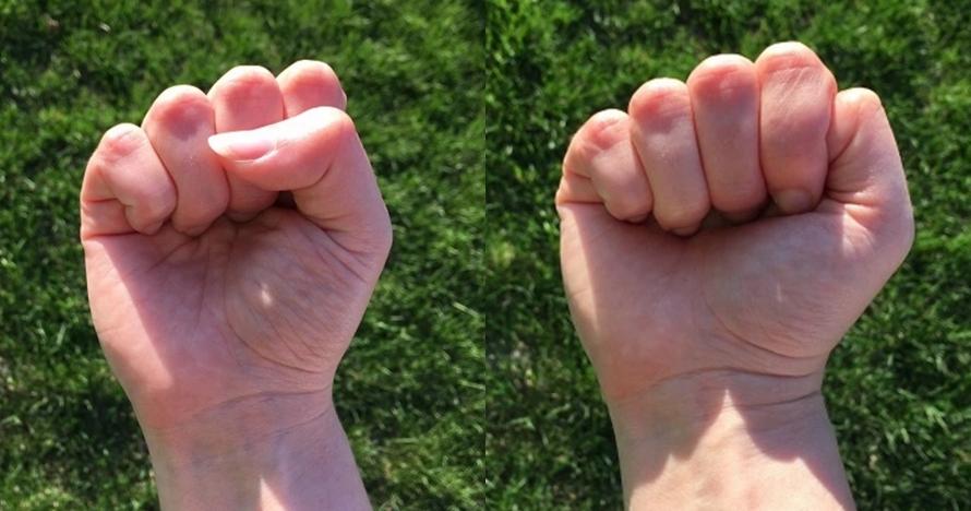 Caramu mengepalkan tangan ternyata bisa tentukan kepribadianmu lho
