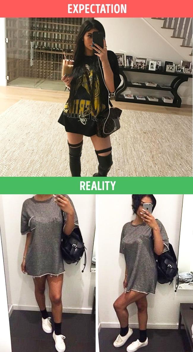 ekspektasi realita fashion © 2017 brightside.me