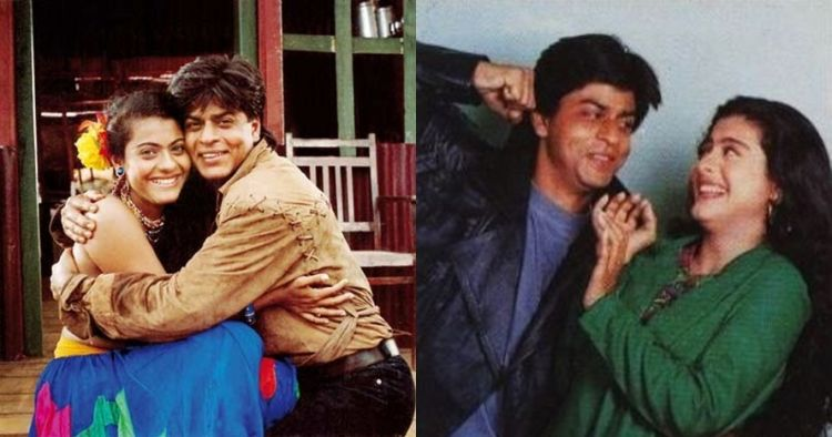 10 Foto lawas Shah Rukh Khan & Kajol ini bukti mereka sahabat sejati