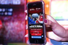 Nonton sepakbola sekarang nggak perlu TV,  pakai aplikasi ini saja