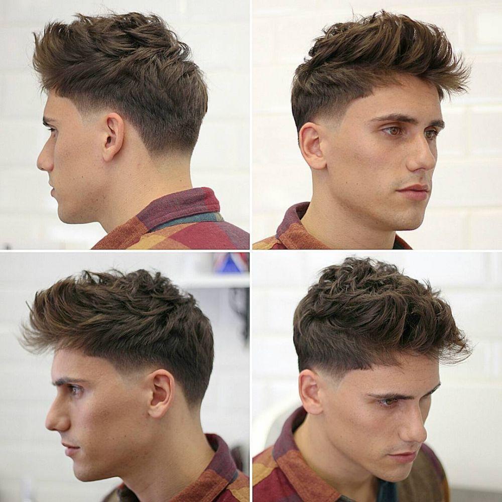 Gaya Rambut Terbaik Ada Yang Bisa Dibentuk Dalam Menit - Hairstyle cowok jaman sekarang