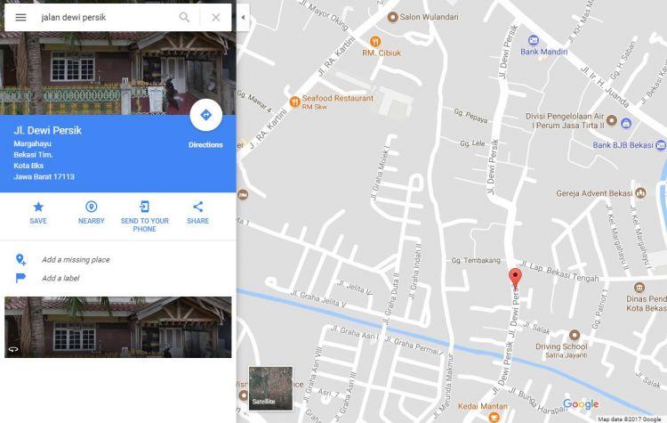Nama Jalan Dewi Sartika di Bekasi tiba-tiba jadi Jalan Dewi Persik