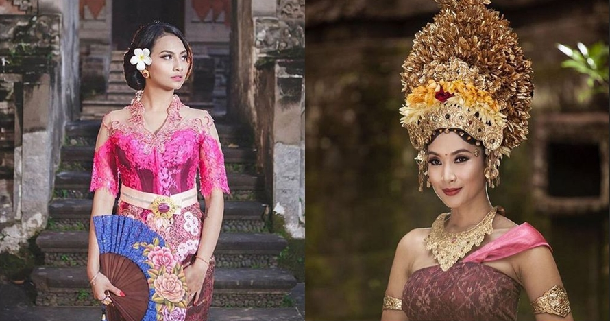 10 Seleb ini makin anggun pakai baju adat Bali, cantiknya paripurna