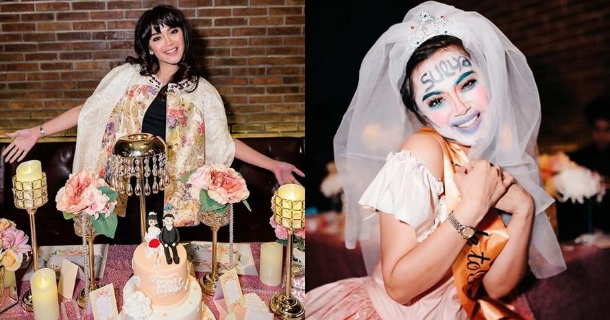 10 Foto serunya bridal shower Sheza Idris, tinggal menghitung hari nih