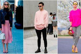 10 Ide outfit serba pink millennial, warna ngehits di dunia fashion