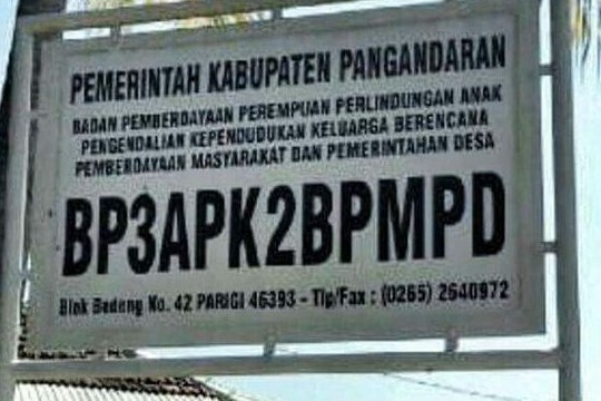 Nama lembaga pemerintahan ini panjang banget, kamu bisa menghafalnya?