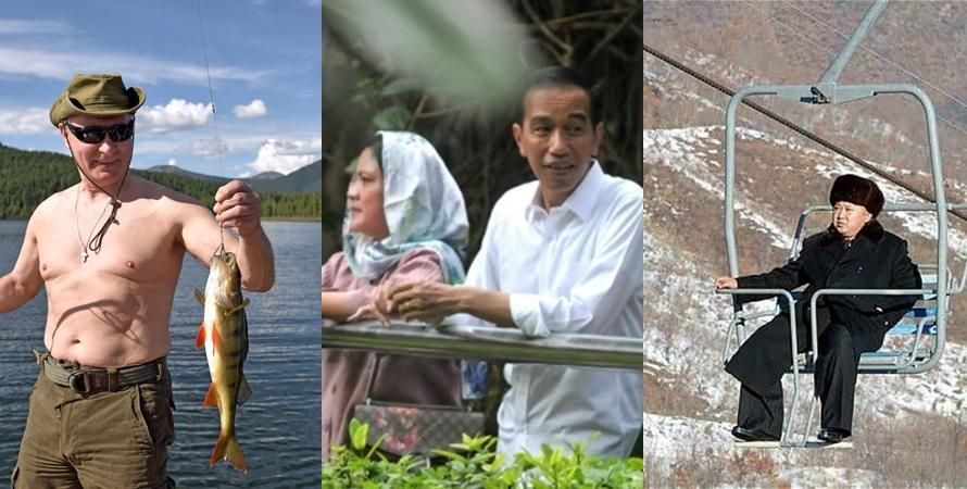 Begini gaya 5 pemimpin dunia saat liburan, sederhana kayak orang biasa
