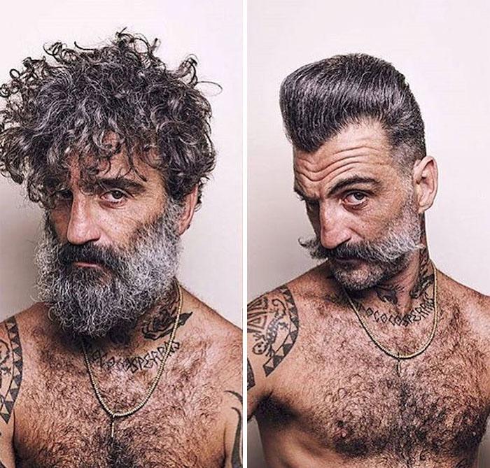 ganti gaya rambut ekstrem  © 2017 berbagai sumber
