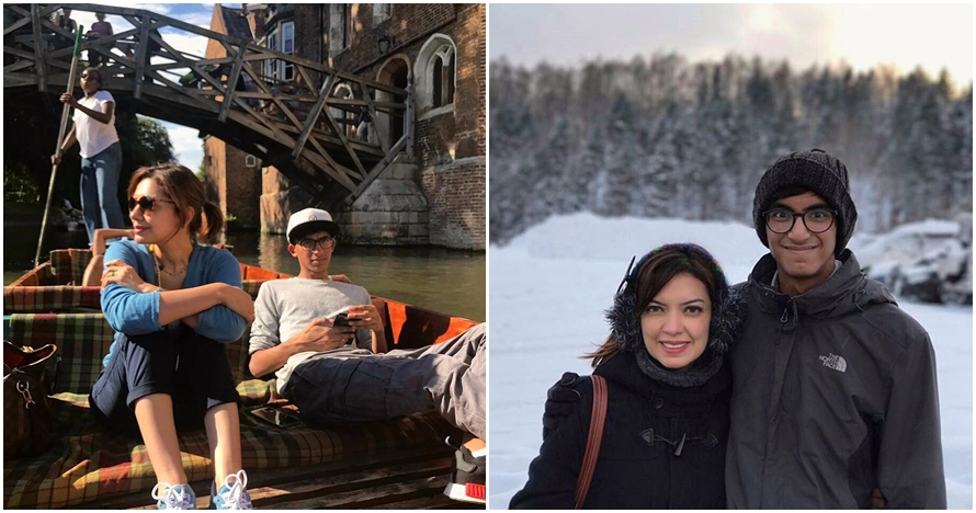 8 Potret anak Najwa Shihab ini jarang terekspos, ganteng & berprestasi