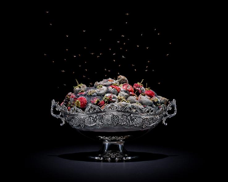 10 Karya seni dari makanan busuk, bikin kamu terkesima