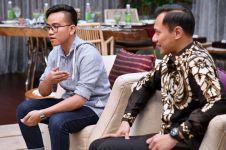 4 Potret kehangatan pertemuan Gibran dan Agus Yudhoyono