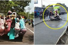 13 Foto kelakuan emak-emak di jalanan ini bikin kezel sekaligus ngakak
