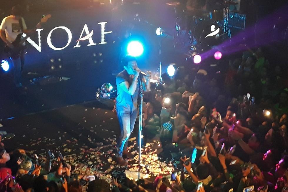 Minus Uki, NOAH tampil energik di panggung Liquid