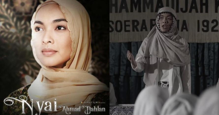 10 Potret Tika Bravani saat jalani syuting film Nyai Ahmad Dahlan