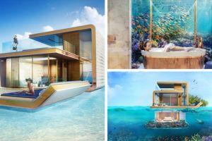 Mengintip rumah bawah laut canggih ala Dubai seharga Rp 30 miliar