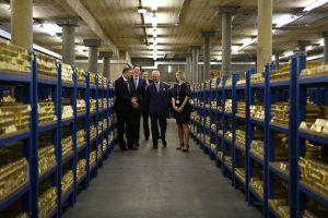 6 Potret gudang emas di London, mampu simpan 5 ribu ton logam mulia