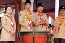 Presiden Jokowi minta anggota Pramuka tak cuma dilatih tali-temali