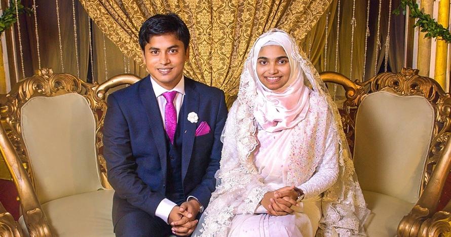 Wanita ini pilih tak bermakeup saat menikah, alasannya bikin kagum