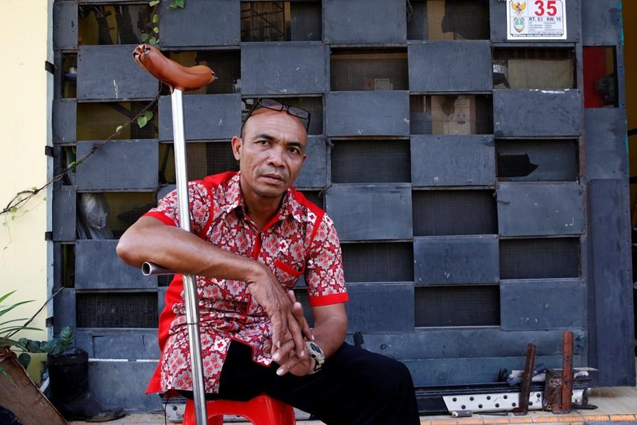 Sabar Gorky, pendaki satu kaki yang tak pernah kenal kata menyerah