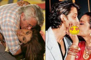 10 Pasang seleb Bollywood ini tertangkap kamera ciuman di depan publik