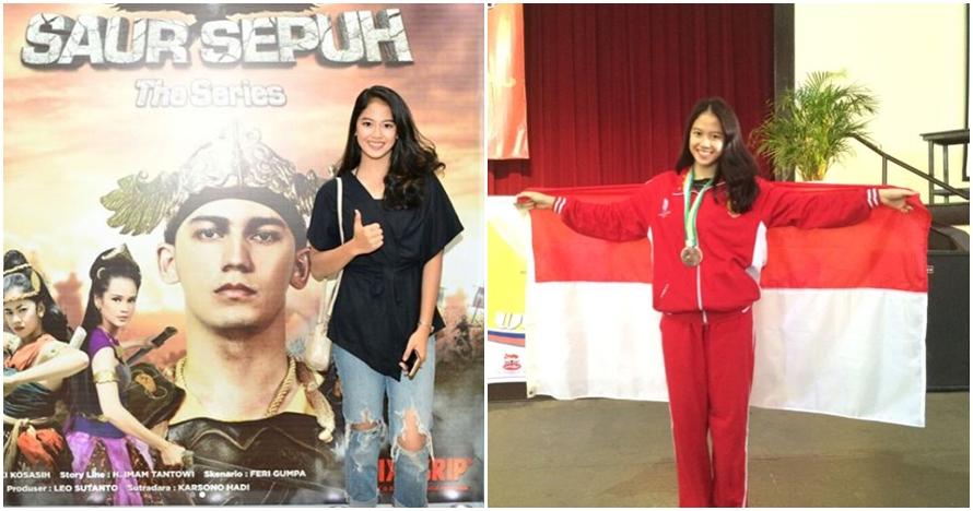 10 Gaya Sabina Katya, atlet Wushu cantik yang bintangi Saur Sepuh