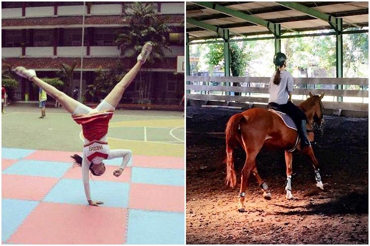 Gaya Sabina Katya atlet Wushu cantik © 2017 instagram