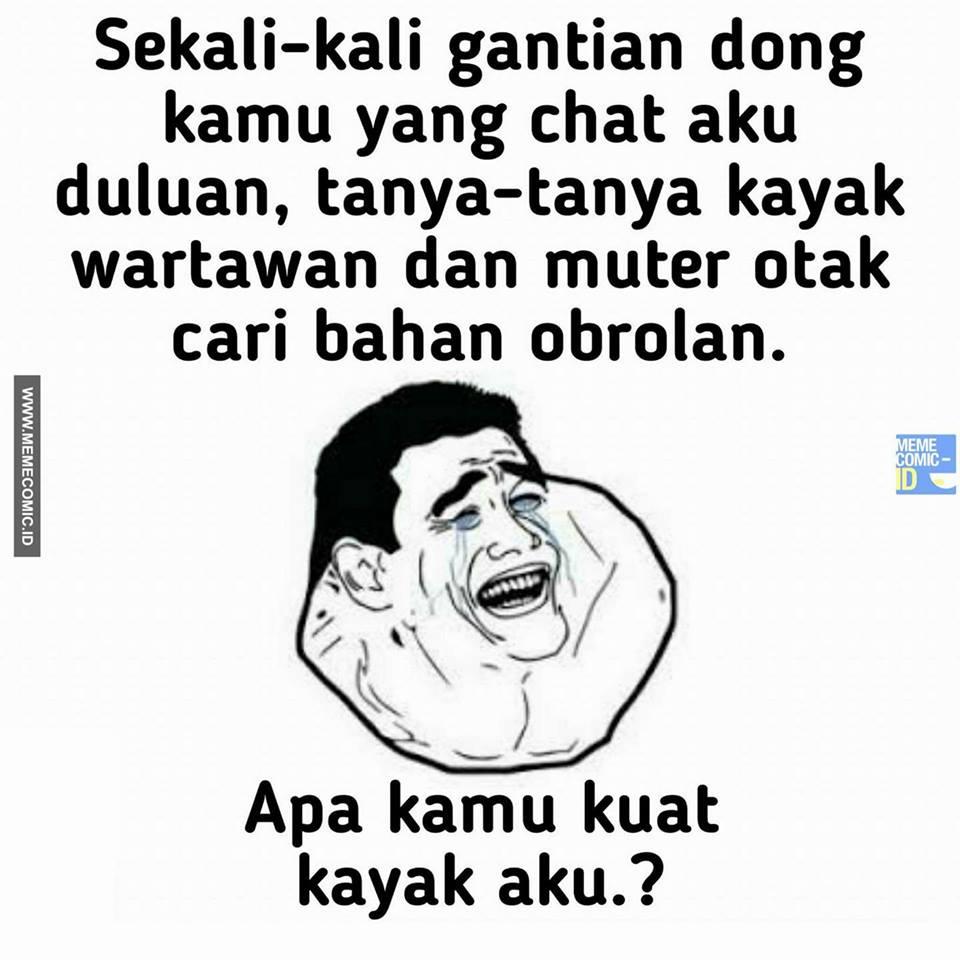 Meme cobaan cowok 2017 meme comic indonesia