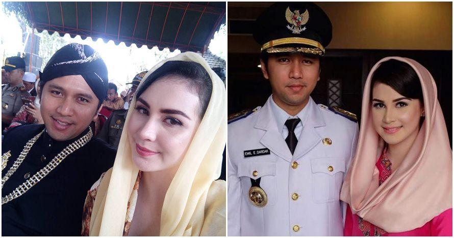 Potret suami Arumi Bachsin ngulek sambel ini viral, sederhana banget