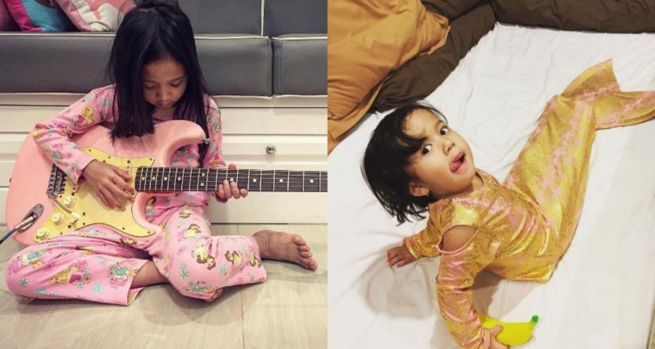 10 Foto cantiknya anak-anak Baim dan Artika Sari Devi