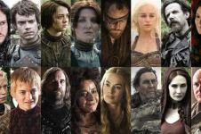 15 Foto urutan karakter Game of Thrones dari badan terpendek ke tinggi