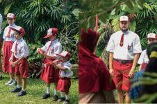 10 Potret serunya perayaan 17 Agustusan ala keluarga Dwi Sasono