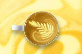 Tak hanya untuk jamu, kunyit juga jadi bahan campuran minuman kopi lho