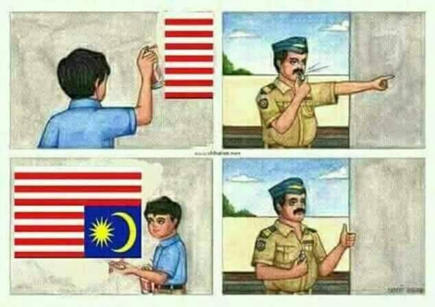 Meme terbalik © 2017 Istimewa