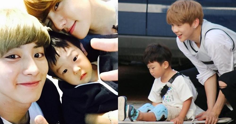 11 Idol K-Pop ganteng main bareng balita, sudah cocok jadi ayah nih?