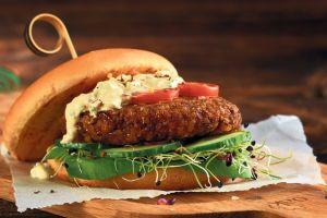 Unik, restoran ini menjual bakso dan daging burger dari larva serangga