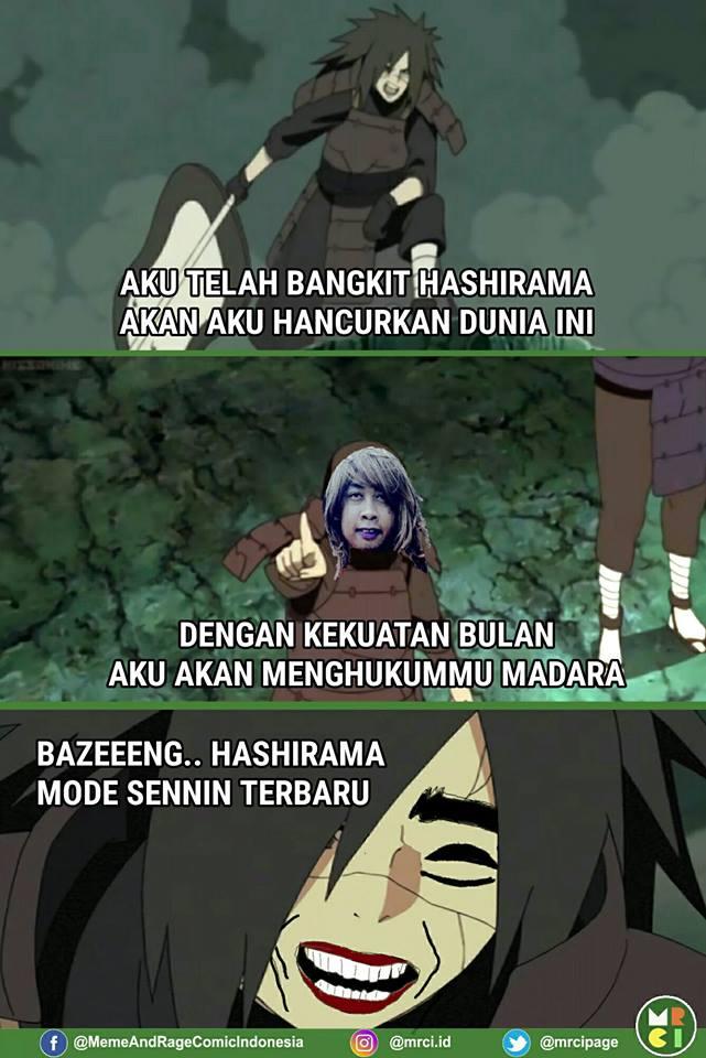 Gambar 9 Komik Madara Naruto Dikerjain Tokoh Meme Lucu Nggak Ketulungan di Rebanas  Rebanas