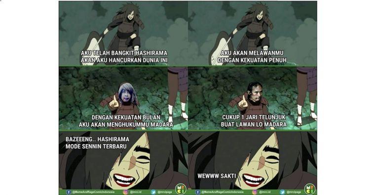 9 Komik  Madara Naruto  dikerjain tokoh meme ini lucu  nggak