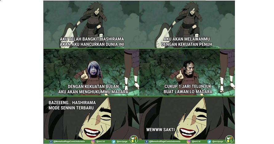 9 Komik Madara Naruto dikerjain tokoh meme ini lucu nggak ketulungan