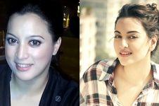 5 Foto tunjukkan Jane Shalimar 'kembar' dengan artis Bollywood ini