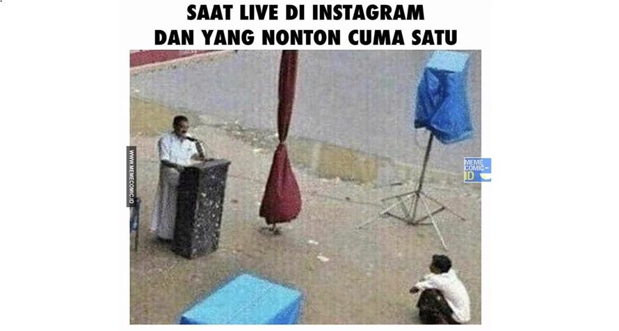 11 Meme 'main Instagram' ini lucunya seng ada lawan