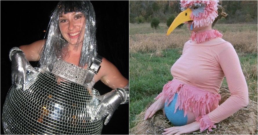 12 Foto ibu hamil dengan kostum unik, ada-ada aja nih