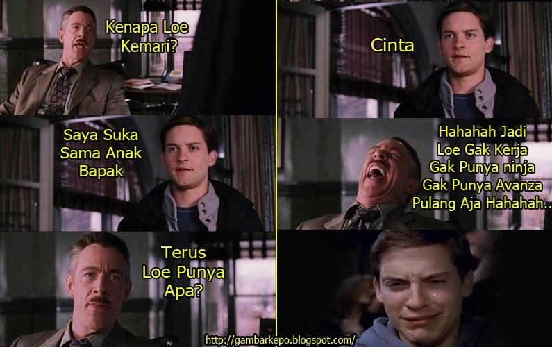 Meme Peter Parker  © 2017 1cak