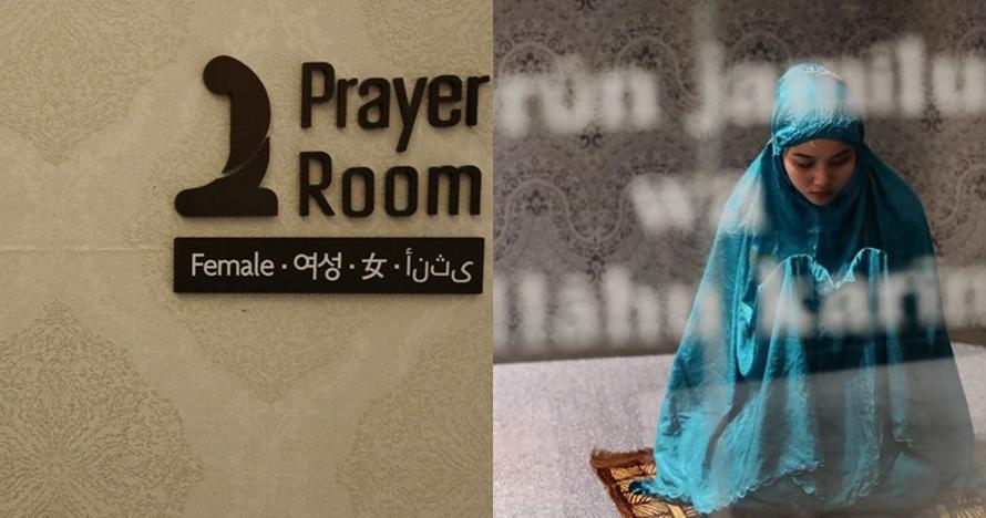 Ini mal pertama di Korea Selatan yang bikin mushala buat turis muslim