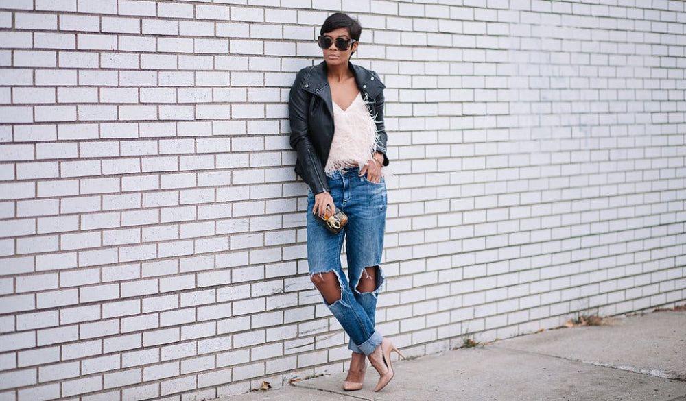 boyfriend jeans ala pinterest  © 2017 berbagai sumber