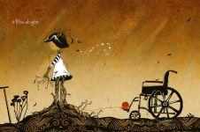 13 Ilustrasi ini gambarkan perjuangan hidup penderita penyakit langka