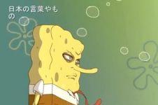 Heboh beredar tayangan Spongebob versi anime, masih lucu nggak?